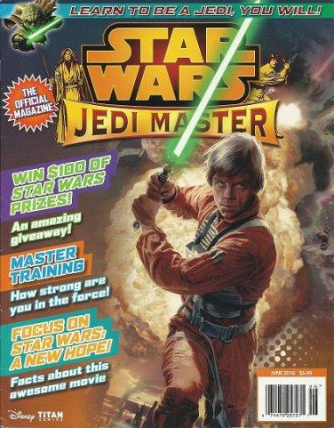 STAR WARS JEDI MASTER DISNEY TITAN COMICS JUNE 2016