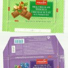 PAIR OF 100gr MAUXION CHOCOLATE WRAPPERS FROM HERGESTELLT GERMANY
