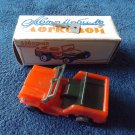 VINTAGE WIND UP TOY JEEP NEW PERFECT WITH BOX RUSSIA 1992