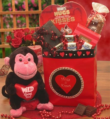 Wild About You Valentines Gift Bag