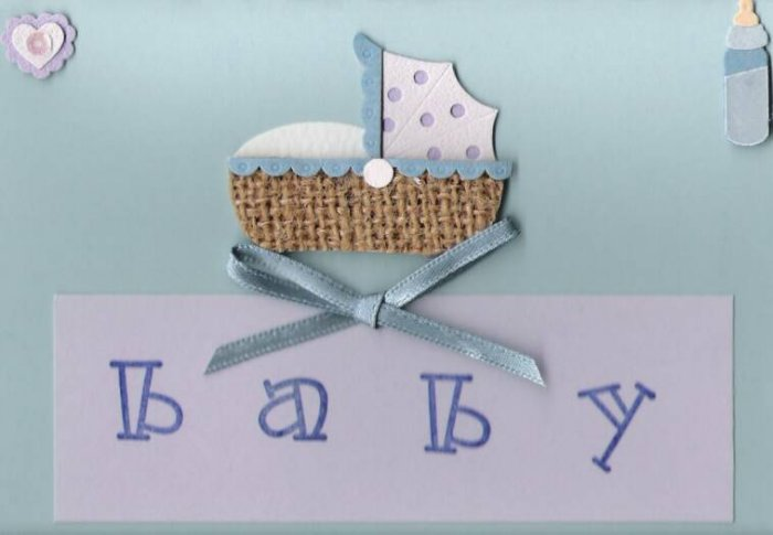 Baby Bassinet Card