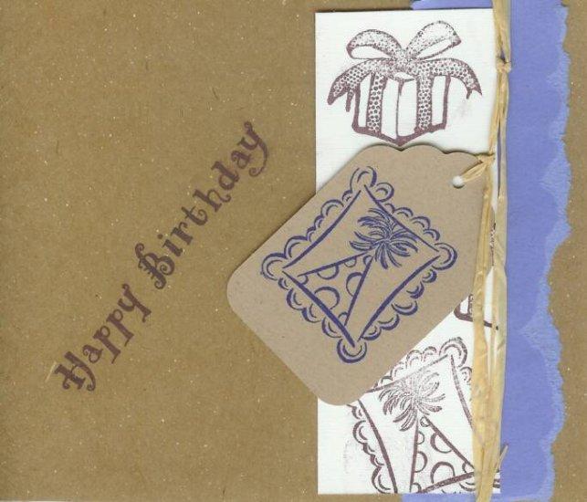 Birthday Hats Card