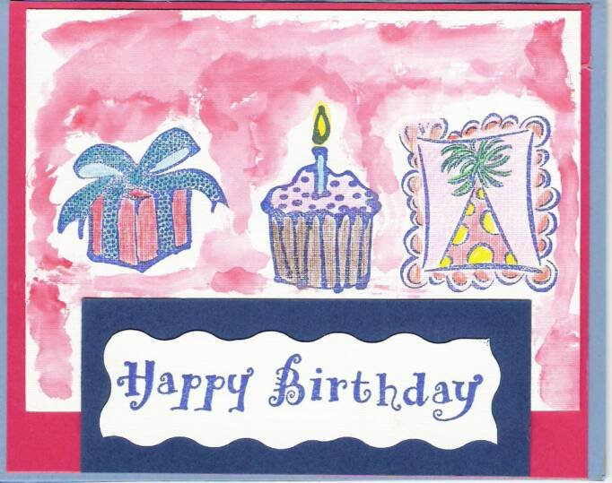 Birthday Row Card