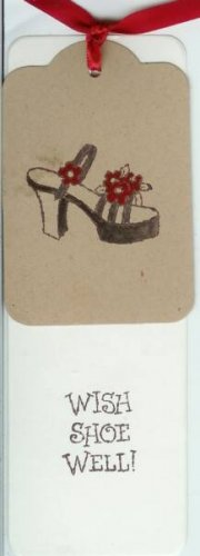 Wish Shoe Well Bookmark