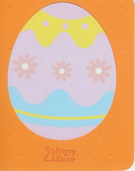 Decorated Easter Egg Card