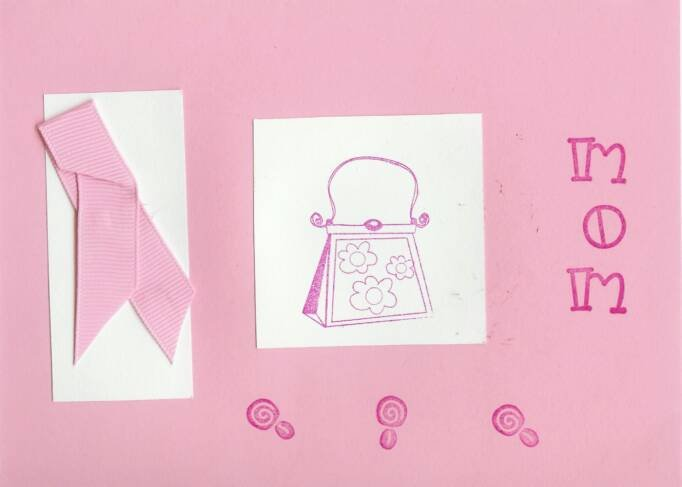 Breast Cancer Awareness Mom Card