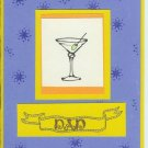 Dad's Martini Card