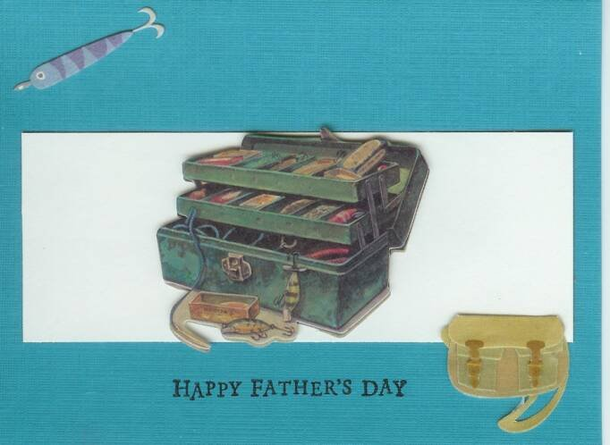 Dad's Tackelbox Father's Day Card
