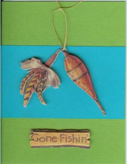Gone Fishin' Card