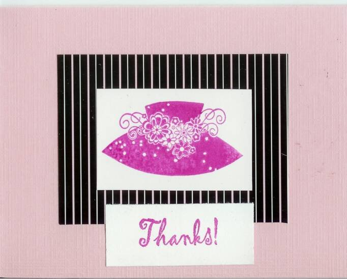 Hat Thank You Card