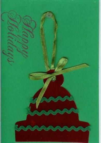Happy Holidays Winter Hat Card