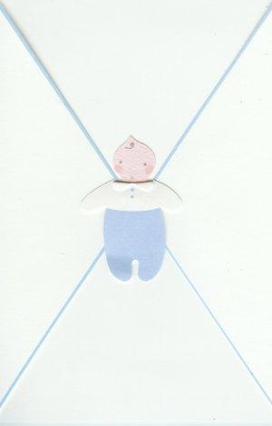 Bundle of Joy Baby Boy Card