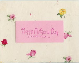 Roses Mother's Day Card