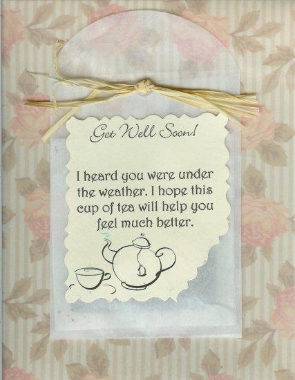 Tea Get Well Card