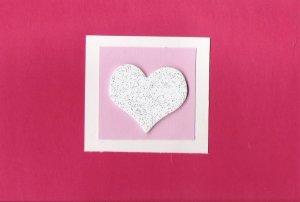 Glitter My Heart Card