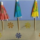 Beach Umbrellas Card