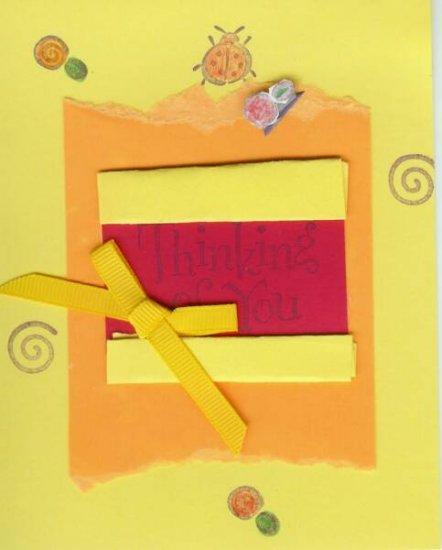 Thinking of You Ladybug Card
