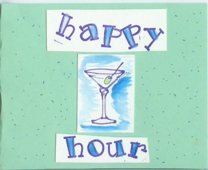 Happy Hour Card