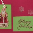 Santa Happy Holidays Card