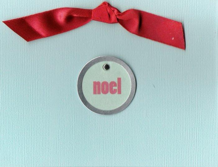 Noel Medallion Card