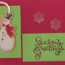 Snowman Season's Greetings Card