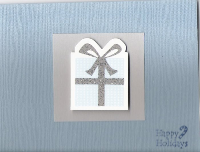 Happy Holidays Present Card