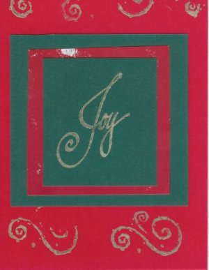 12 Joy Christmas Cards