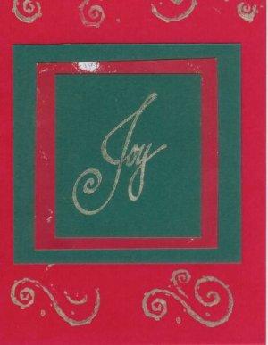 12 Joy Christmas Cards