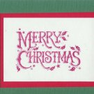12 Merry Christmas Cards