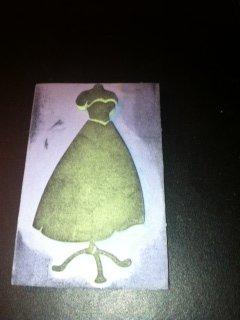 Wedding Dress Foam Stamp