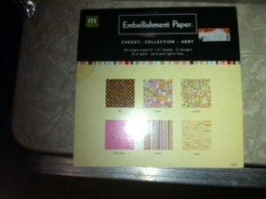Embellishment Paper Pad II