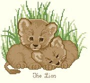 Lion Cubs Resting