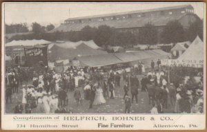 Postcard Advertising Postcard Helfrich Bohner and Co. unused 1920's