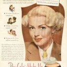 1945 Max Factor Hollywood  Make Up Lana Turner Advertising Print Ad-tva1509