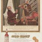 1960 Old Crow Andrew Jackson - Martin Van Buren-  Advertising Print Ad - tva2305
