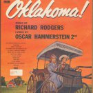 Vintage Sheet Music The Surrey With The Fringe On Top -Oklakoma 1943