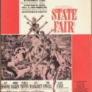 Vintage Sheet Music Rogers and Hammersteins New State Fair 1945