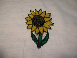 Sunflower Pop Bottle Suncatcher