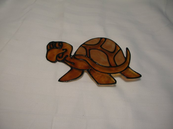 Turtle Pop Bottle Suncatcher