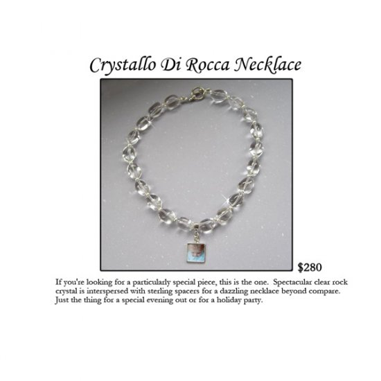Crystallo Di Rocca Necklace