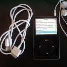 BLACK IPOD VIDEO MP3 PLAYER NO SOUND BROKEN