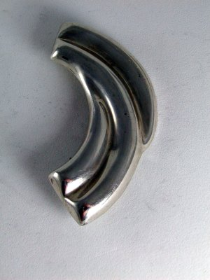 MEXICAN MEXICO TAXCO STERLING SILVER BROOCH
