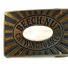 Vintage Beechnut Chewing Tobacco Belt Buckle 11072013