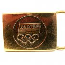 Vintage 1988 U.S.A. Olympics Belt Buckle by BTS