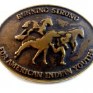 Vintage Running Strong for American Indian Youth Belt Buckle