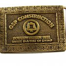 Made in USA OSP Construction Southwestern Bell Belt Buckle 11012013