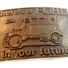 Vintage here's a Ford $750 in your Future Belt Buckle
