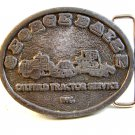 Vintage 1970 - 80's George Baize Oilfield Tractor Service Belt Buckle