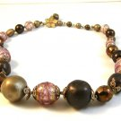 "Vintage Murano Glass Vendome 12"" with 4"" Extender Choker / Necklace"