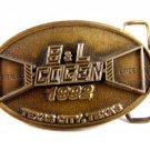 1992 S & L ( Sterling & Linde ) Cogen Texas City Texas Belt Buckle by CD Hit 511